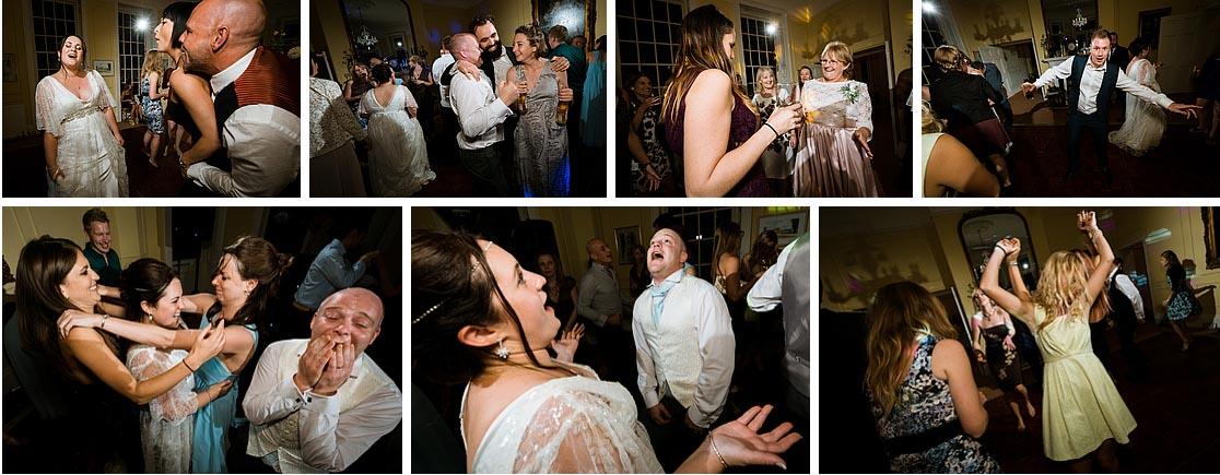 Disco Photos at a Kent Wedding