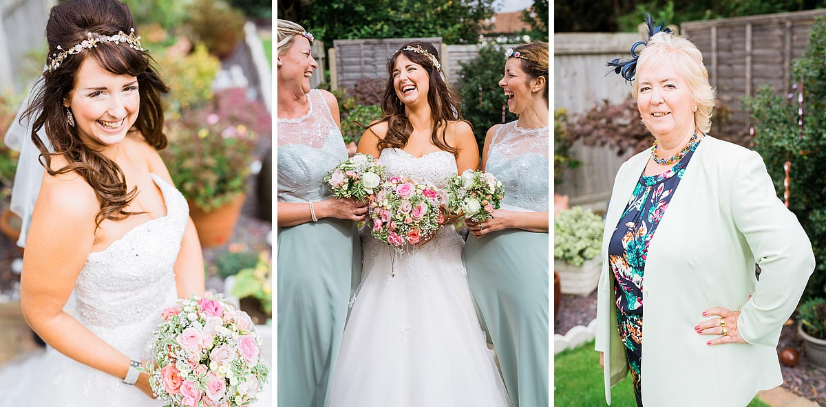Bridal Photos of a wedding in kent, by a kent wedding photographer who photographed a wedding at the secret garden
