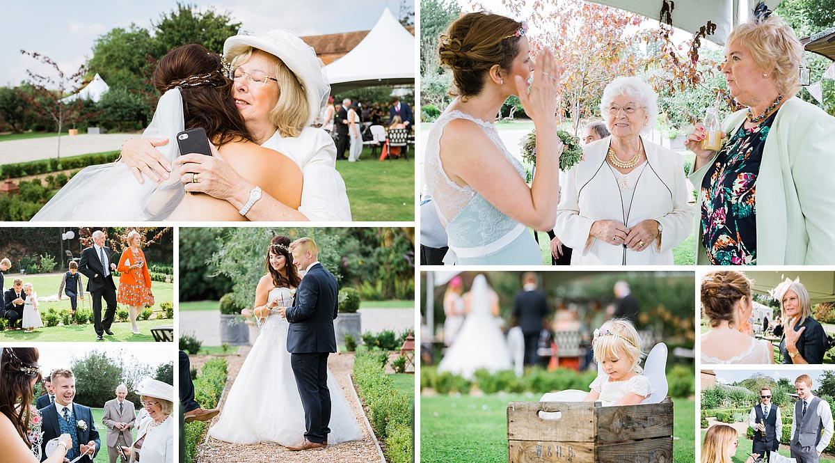 Reception Photos at the secret garden