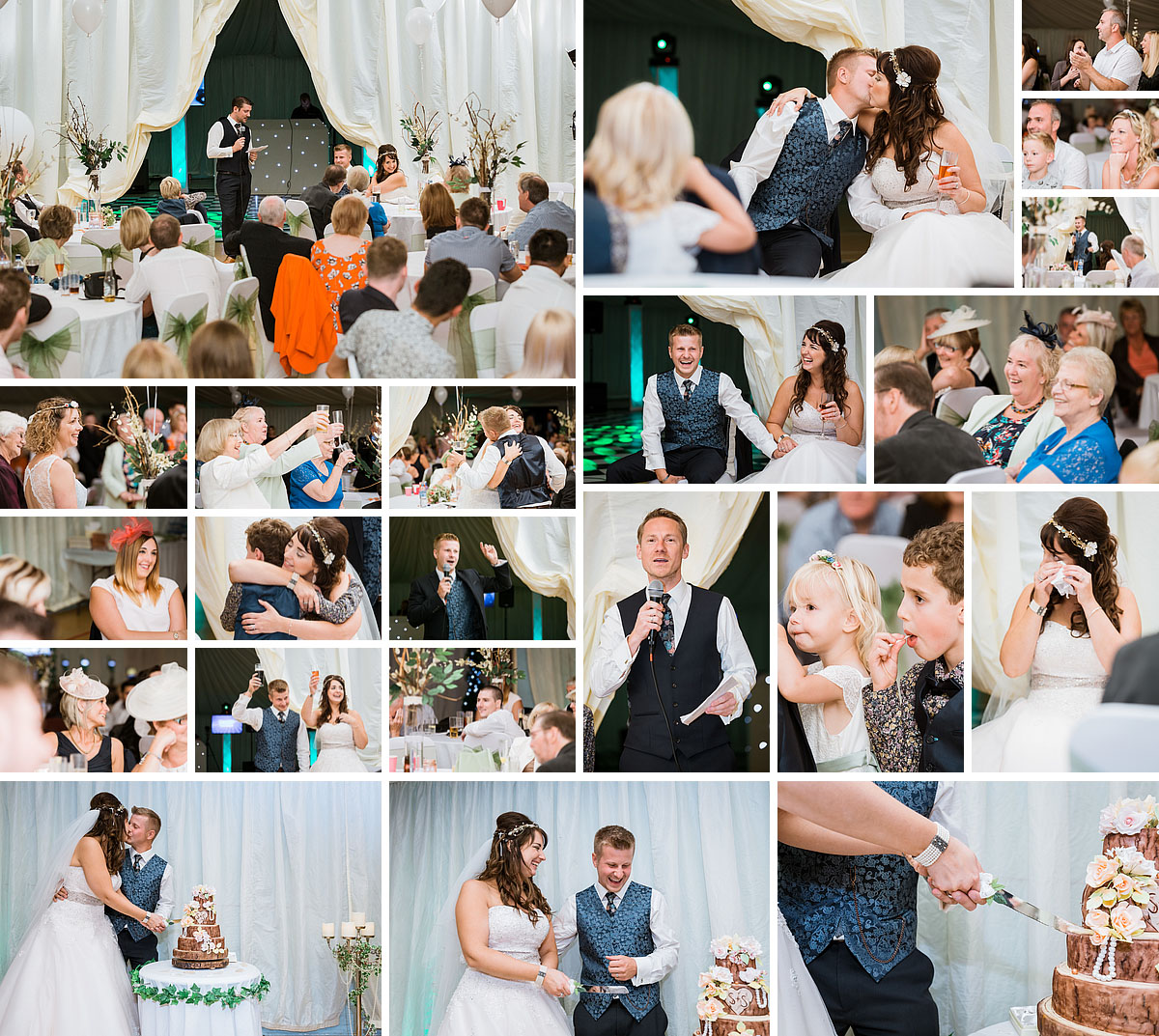 Lordswood Wedding Reception Photos