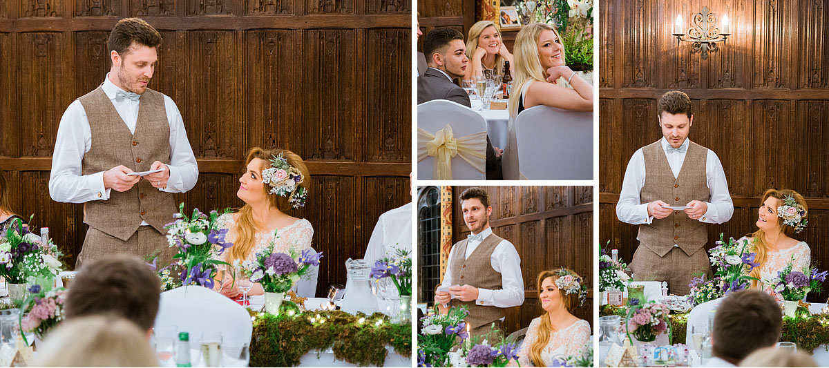 Grooms Speach at Lympne Castle