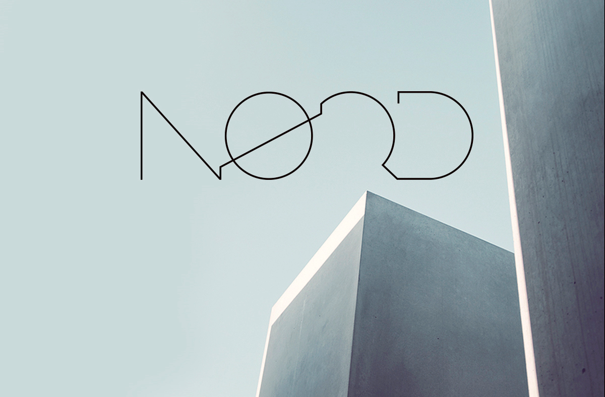 logo design for Noerd architects.