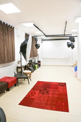 Teil des Studios -
