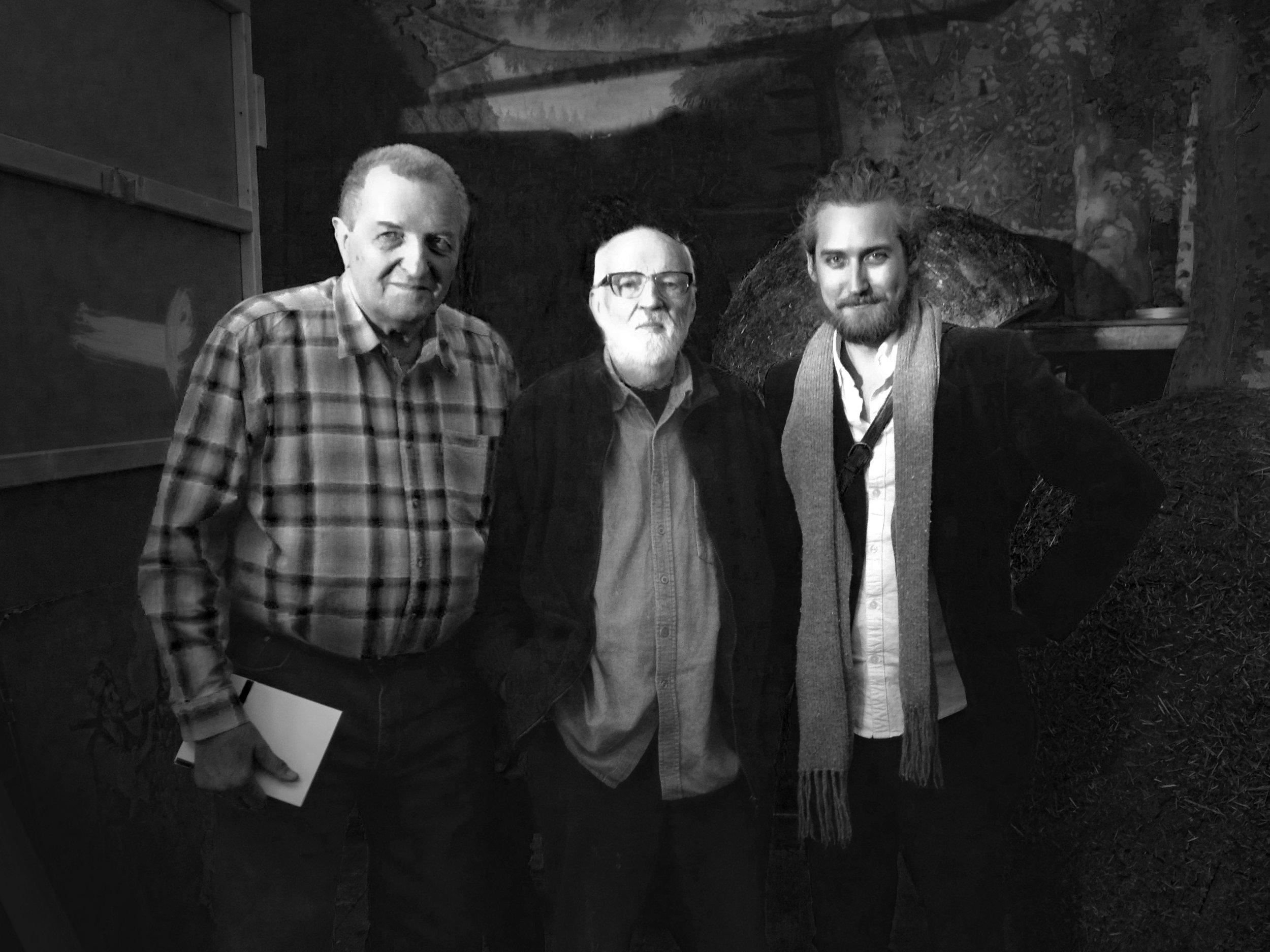 Jaromír Kallista, Jan Švankmajer, Joseph Wallace, Czech Republic, May 2017