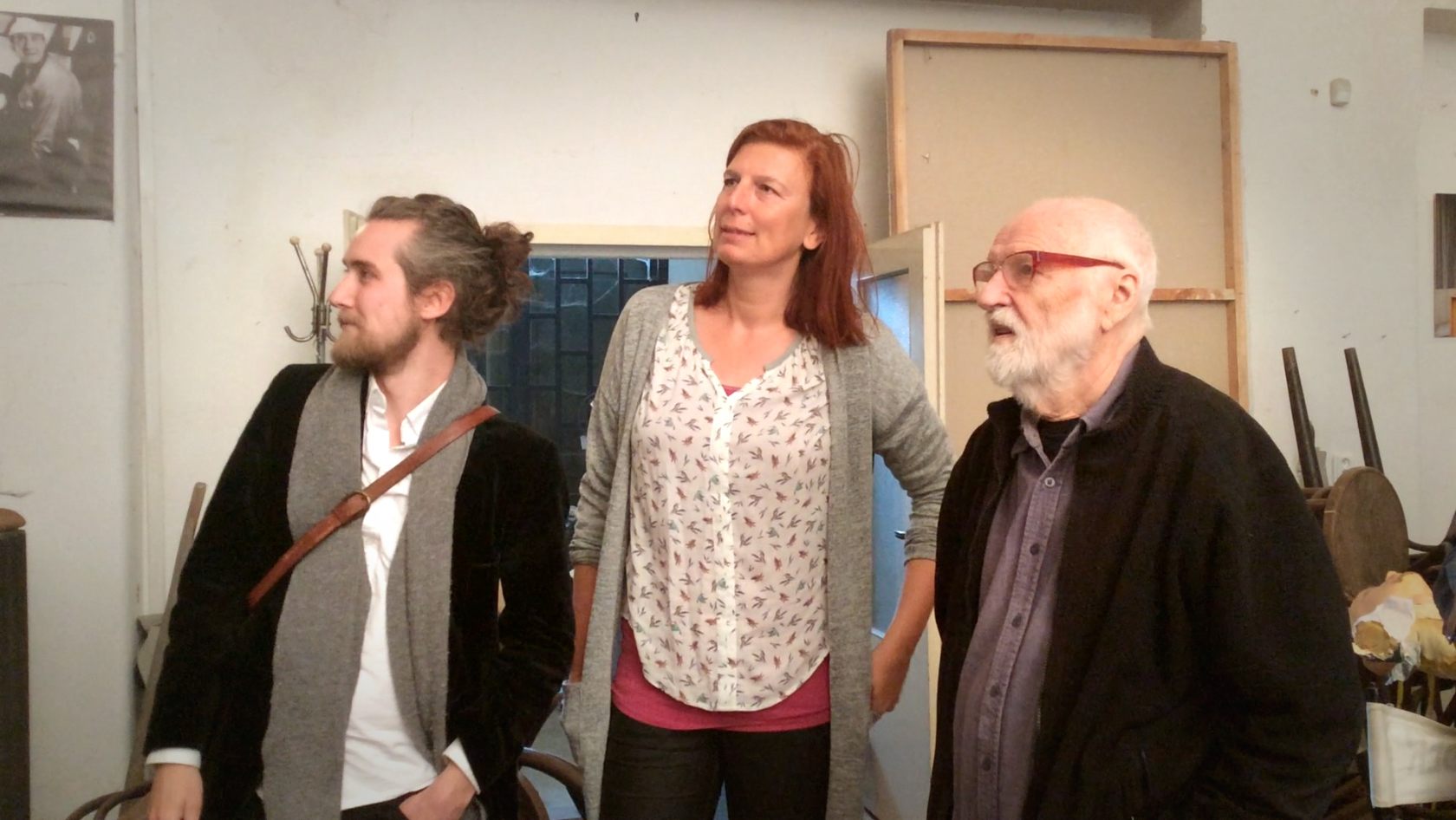 Joseph Wallace,Marketa Tom,  Jan Švankmajer. Photo courtesy of Takeshi Nagata &Kazue Monno