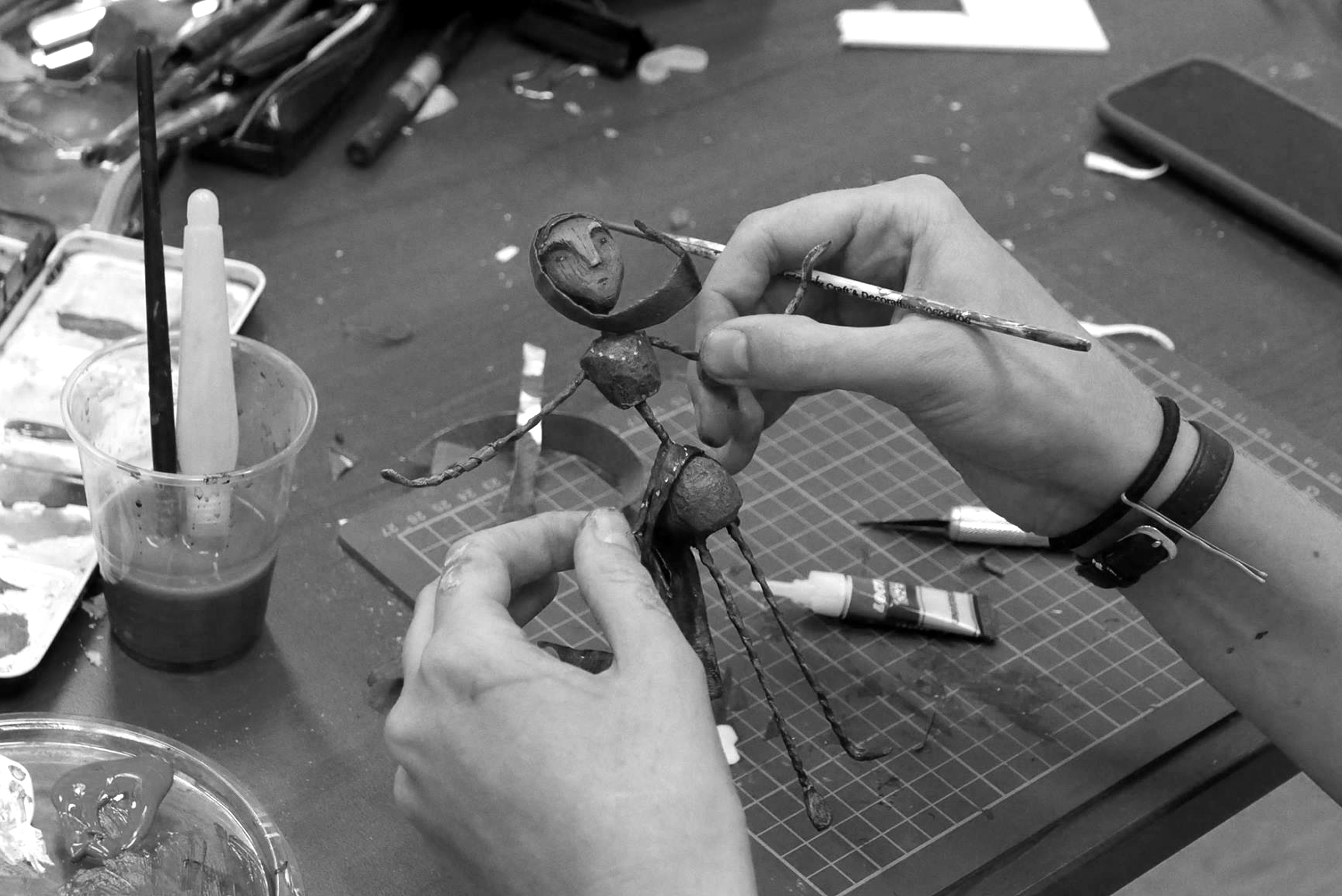Péter and Joseph's World of Stop Motion