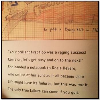Excerpt from Rosie Revere, Engineer