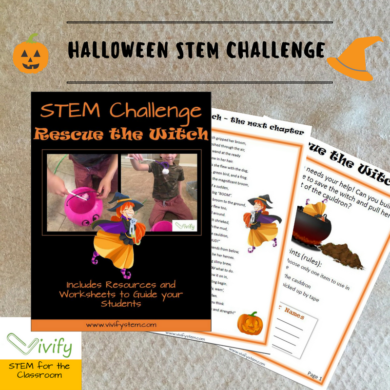 Rescue the Witch STEM design challenge. Click image to see this product in our store!