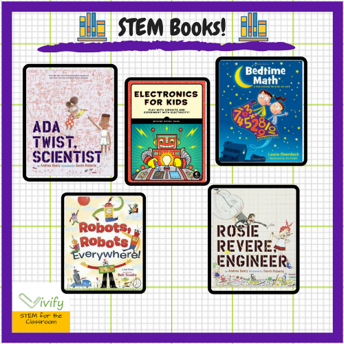 STEM books are perfect for inspiring budding STEMists