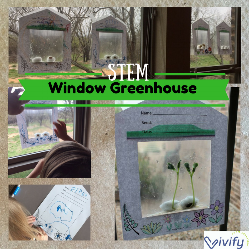 Window Greenhouse Activity included in STEM Botany Challenge