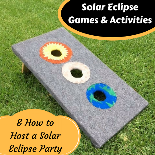 We have 7 solar eclipse activities for you to make the most of your solar eclipse experience in addition to resources and suggestions for hosting your own solar eclipse viewing party!