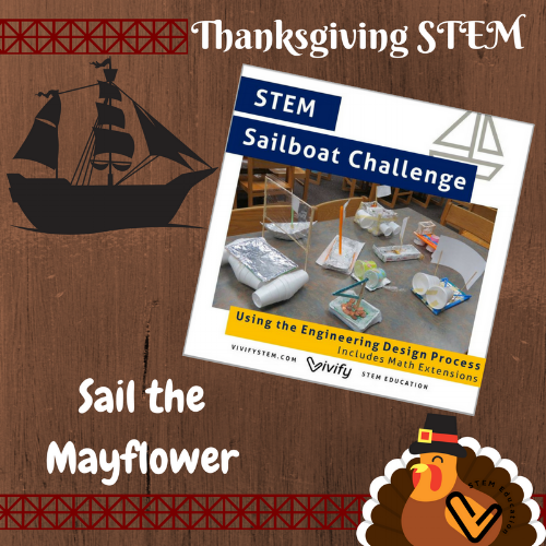 Click to sail the Mayflower with the Sailboat Challenge.