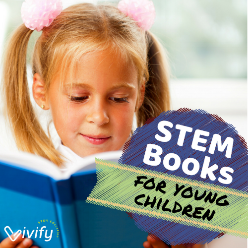 STEM books for elementary school aged children or younger.