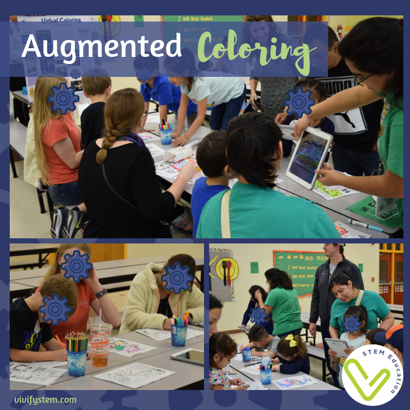 Use the free Quiver app to bring coloring pages to life with augmented reality!