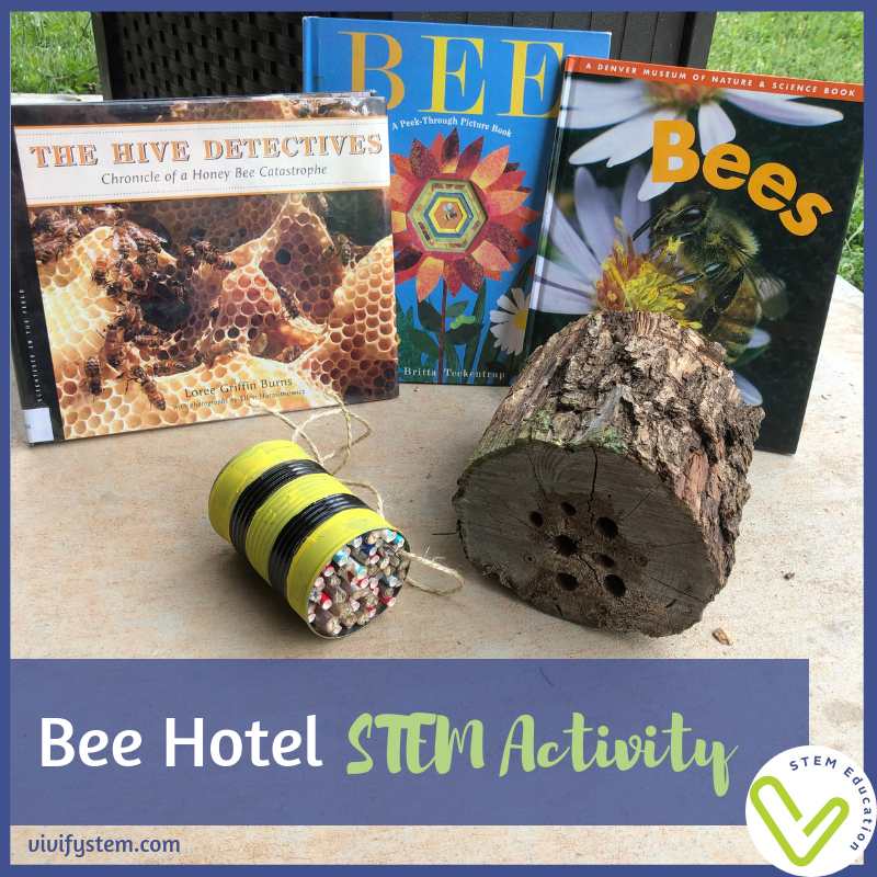 Create a bee hotel to help the endangered pollinators we depend on.