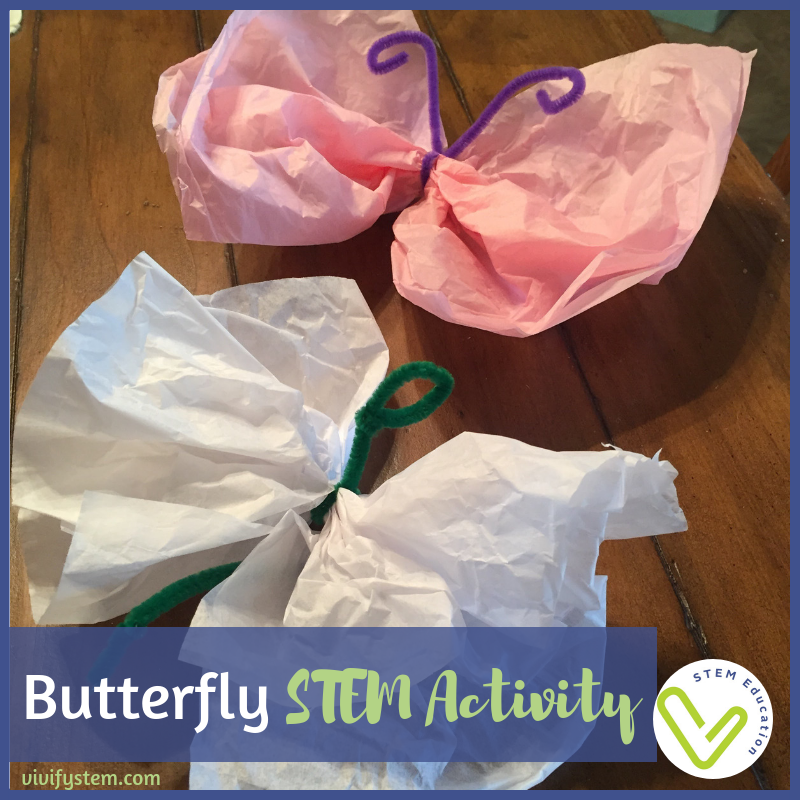 Investigate drag and butterfly flight with this butterfly STEM activity.