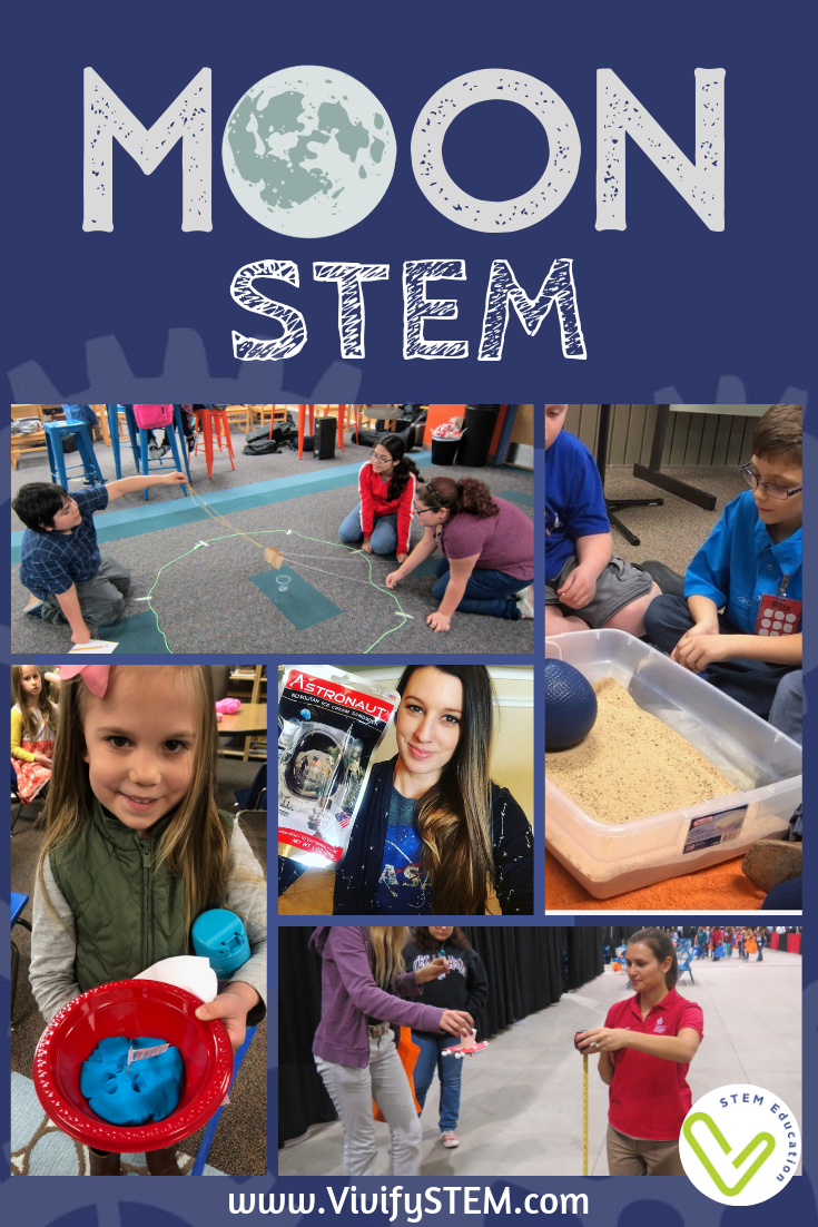 STEM activities celebrating the 50th anniversary of the Apollo Moon landing and other lunar related resources.