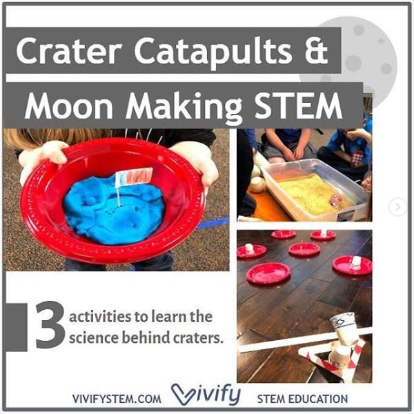 Make a Moon and launch space rocks while learning the science behind them with this engaging STEM lesson.