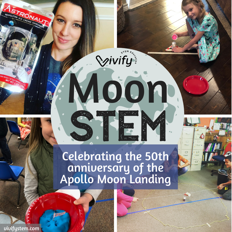 A full list of resources and STEM activities related to the Moon in celebration of the 50th anniversary of the Apollo Moon landing.