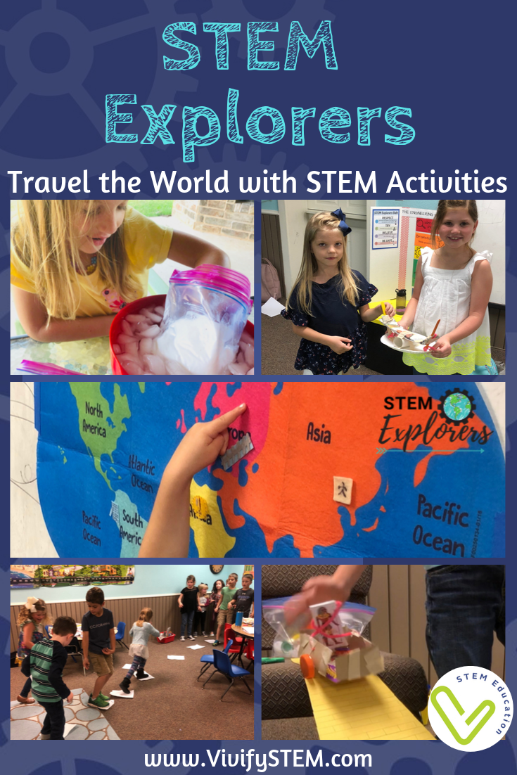 Set sail on a journey exploring STEM inventions around the world with Vivify STEM's STEM Explorers Activities.