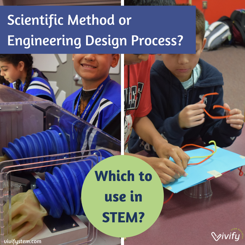 Scientific Method Vs Engineering Design Process Which Is Used In Stem Learning Vivify Stem
