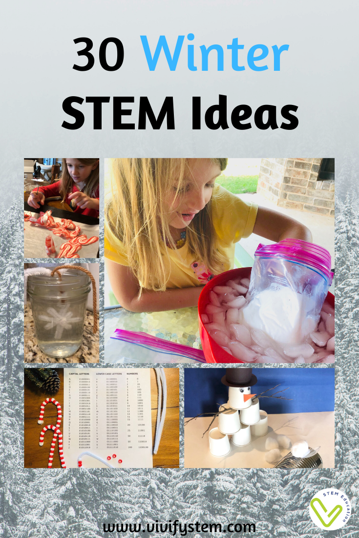 30 Winter Stem Activities Vivify Stem