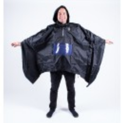 Perfect poncho for on the Urban Arrow in combination with the raincover* * raincover model 2016 with velcroband