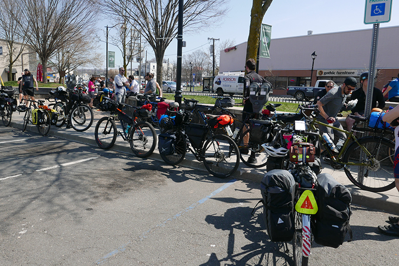Lunch stop in Elmsford, NY