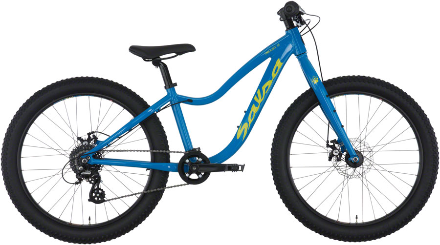 Timberjack 24:  The Timberjack 24 is designed to help turn any kid's daydreams into reality. Featuring a 6061-T6 heat-treated aluminum frame, plus sized tires, modern day componentry and geometry specific for the right size of rider.