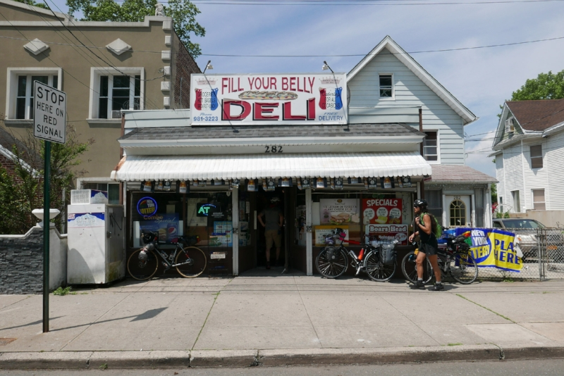 """The Fill Your Belly Deli. A great deli and a great judge of character. They let me use """"out of order"""" bathroom, and let Chombo exchange an already bought Gatorade for a different flavor."""