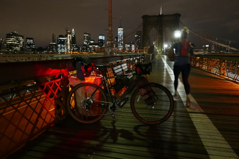 The day started cold and dark, with a ride from Brooklyn to Grand Central Terminal in Manhattan at 5am.