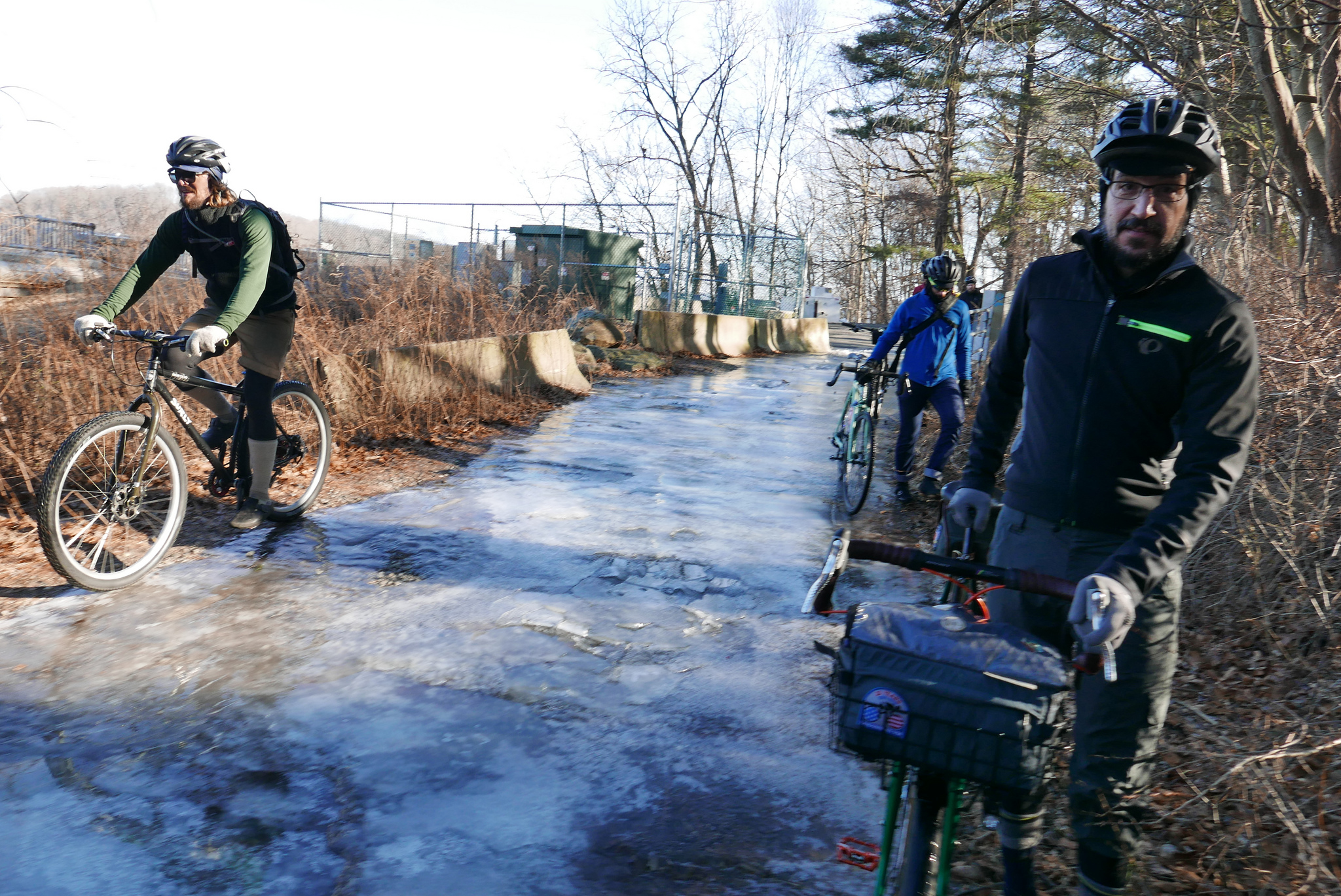 Aaron and His Surly Karate Monkey takes on the ice.
