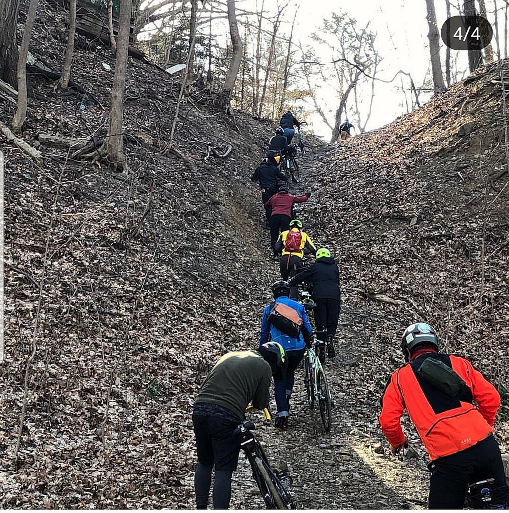 This was a surprise…ravine climbing in Ossining, NY
