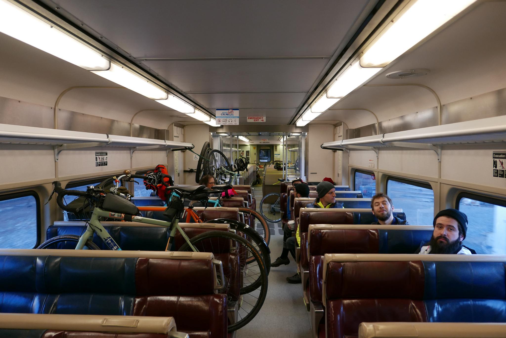 Metro North Train to Croton