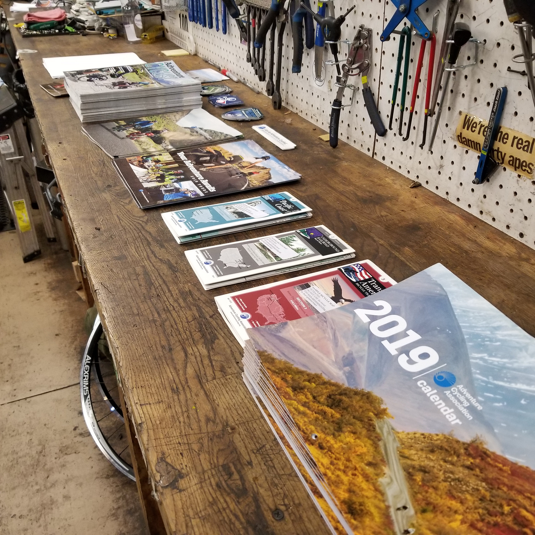 Calendars and publications for all