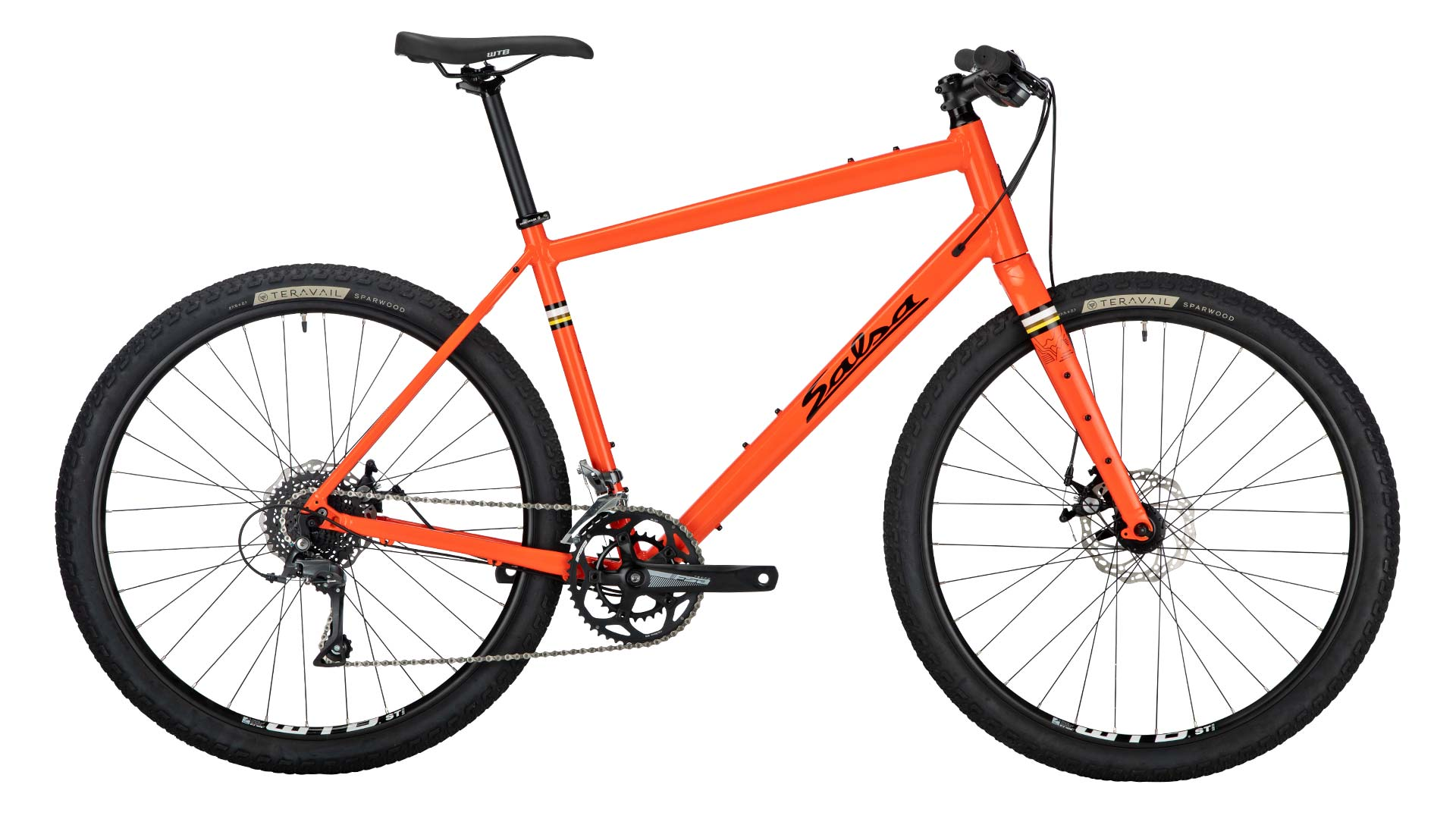 Salsa Journeyman Flat Bar Claris 650b $949