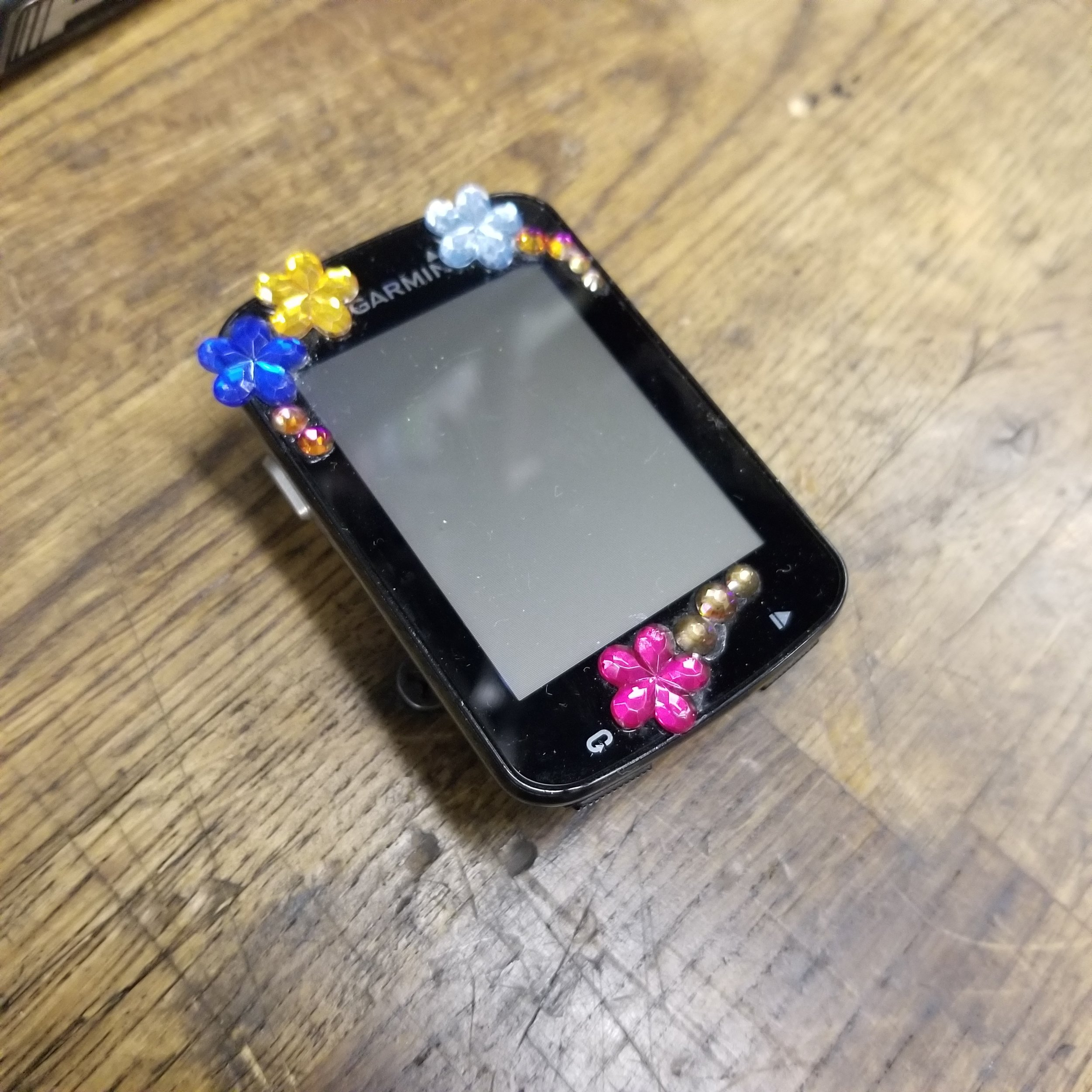 Nina's tricked out Garmin 820
