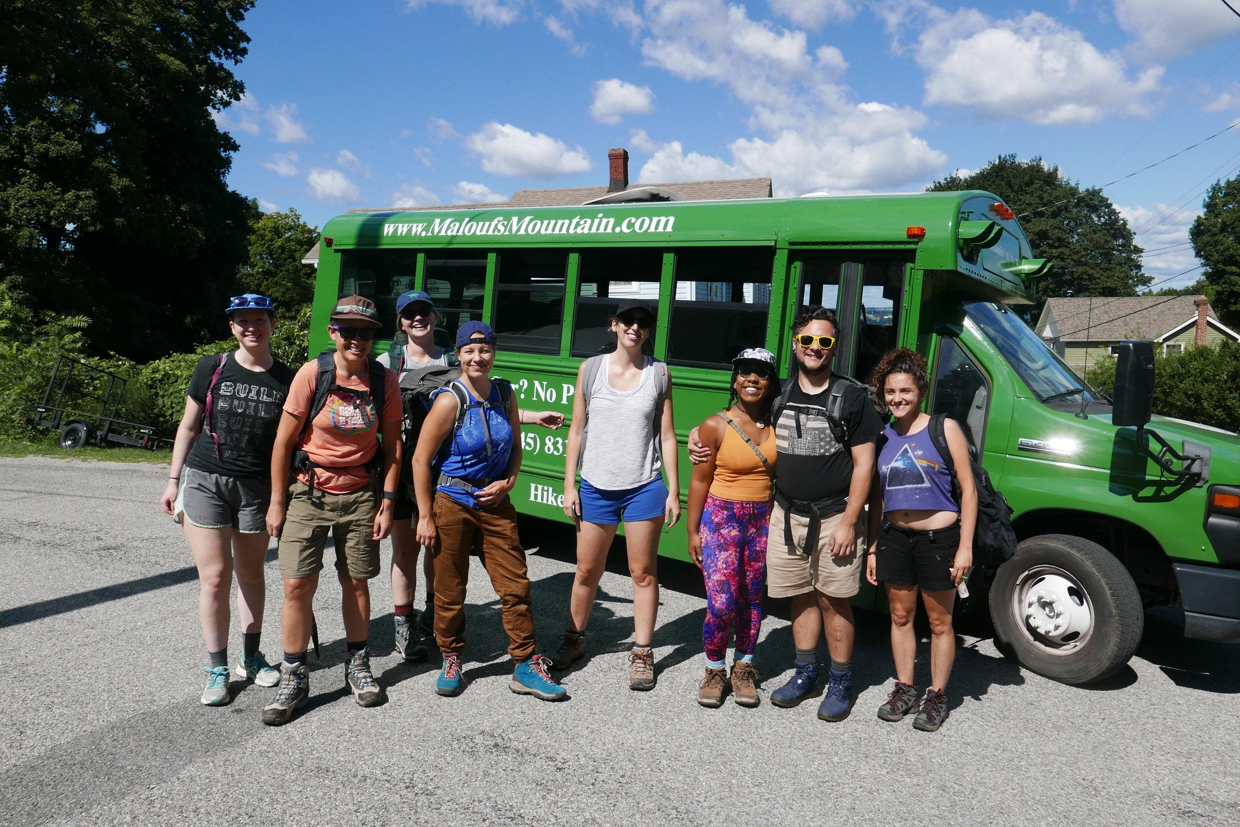 The Malouf Shuttle Bus