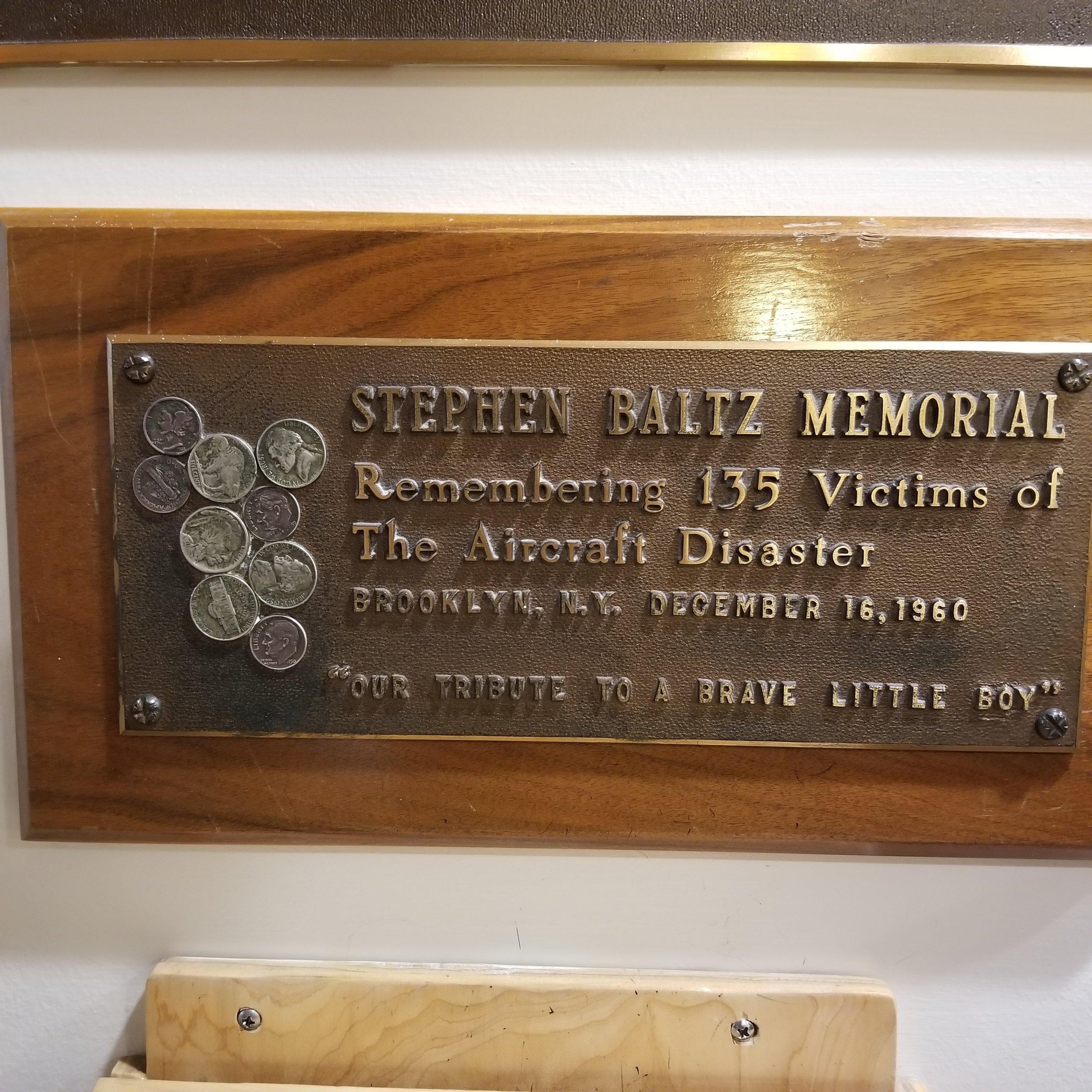 Stephen Bautz Memorial