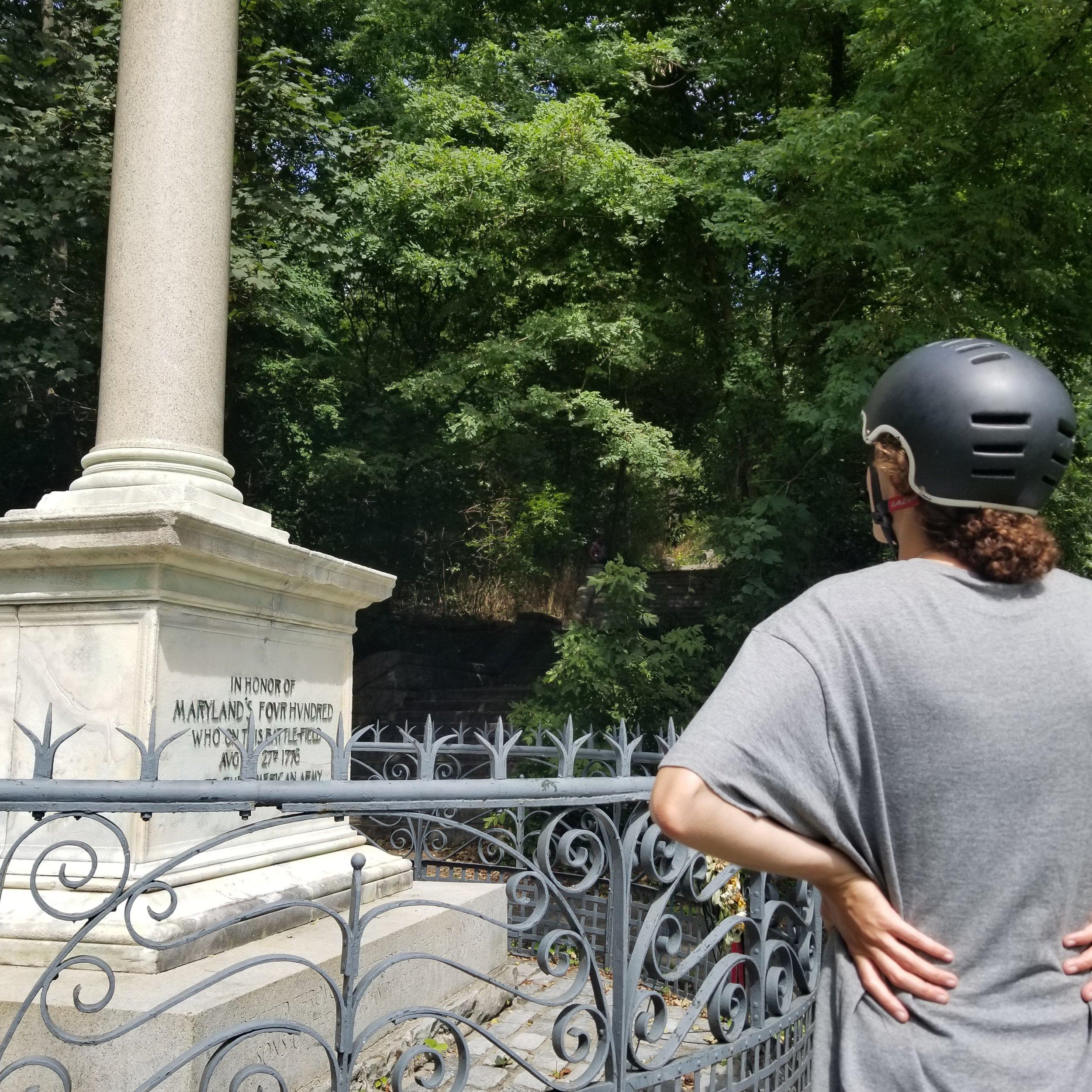 Maryland 400 Monument