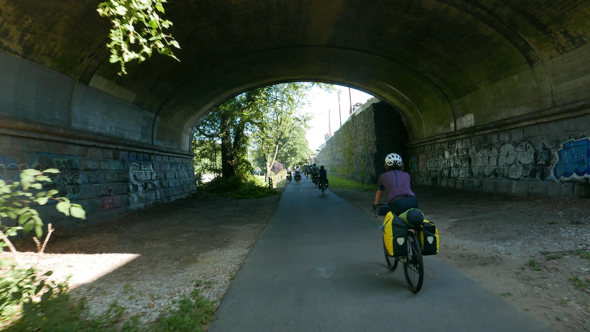 South County Trailway, Westchester County