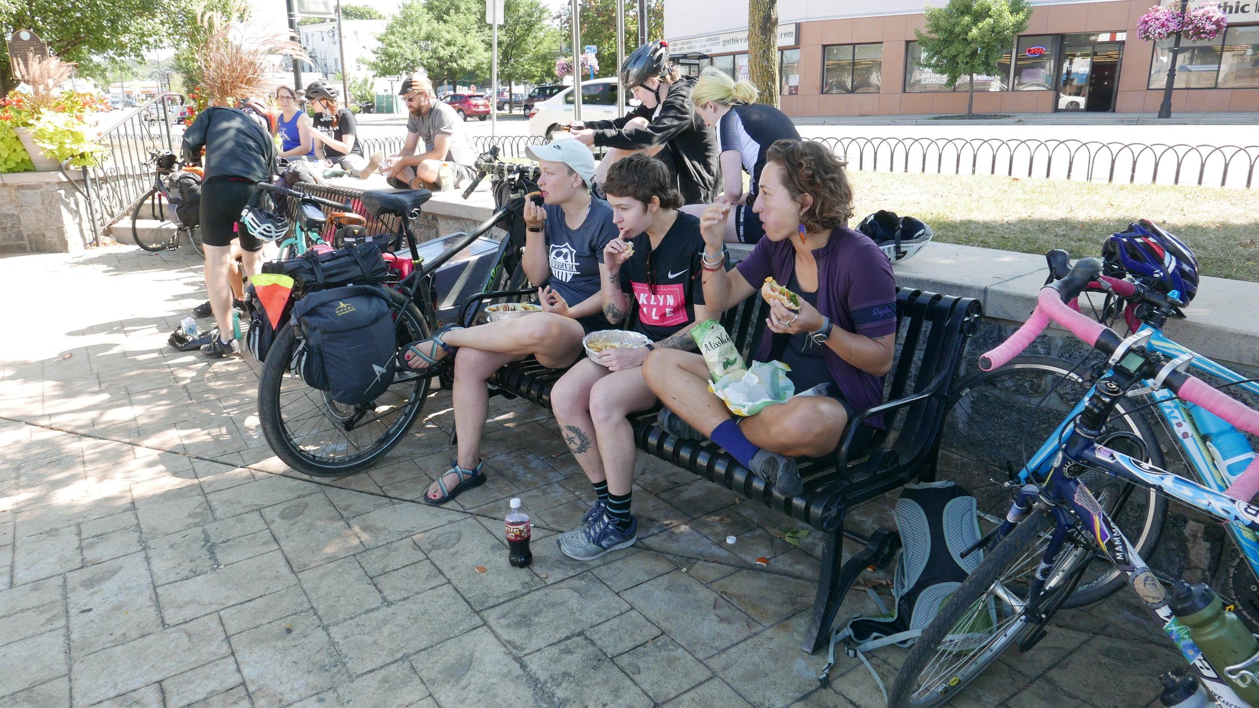 Lunch break in Elmsford, NY