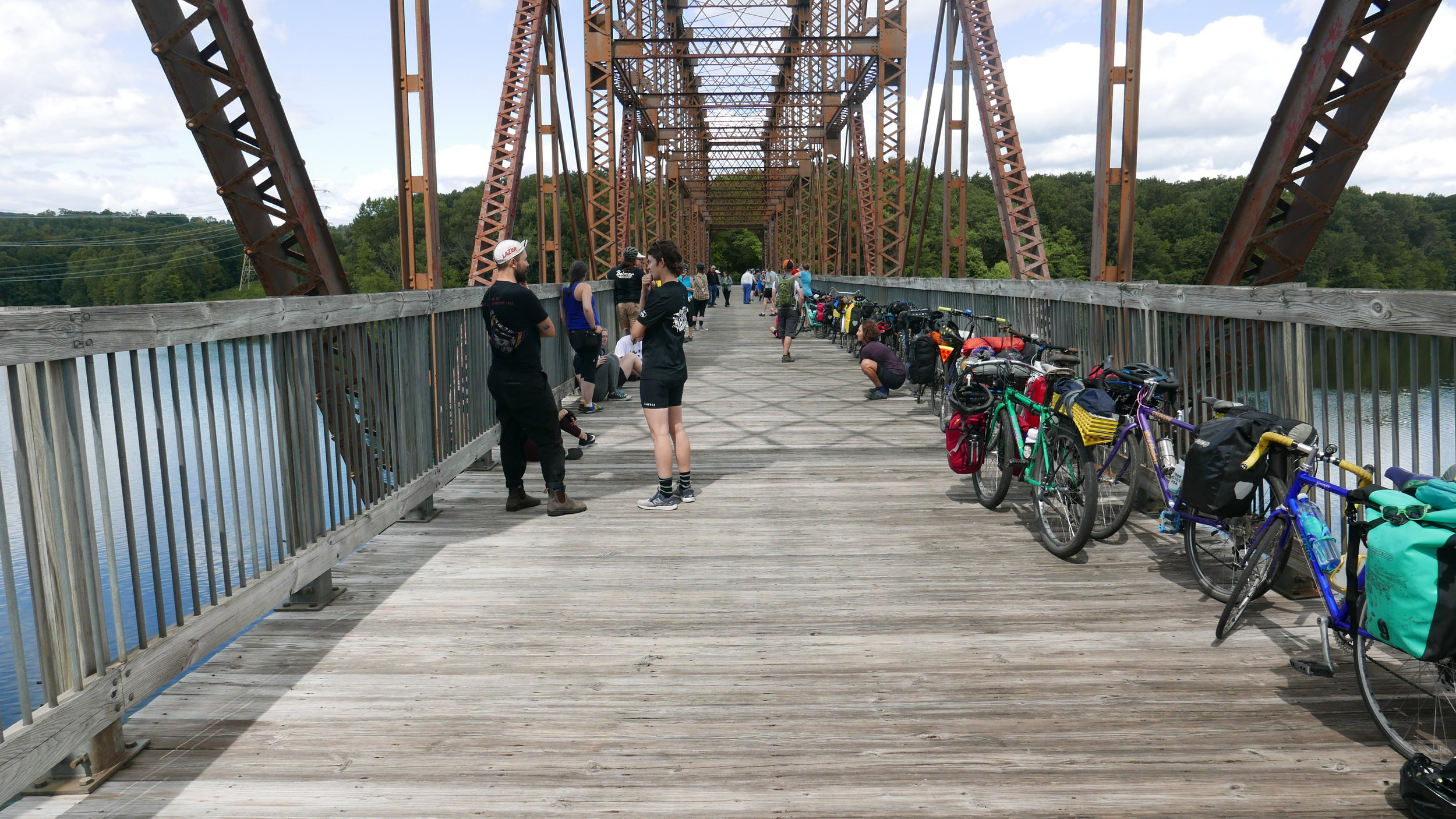 The Trestle bridge over the Croton Reservoir
