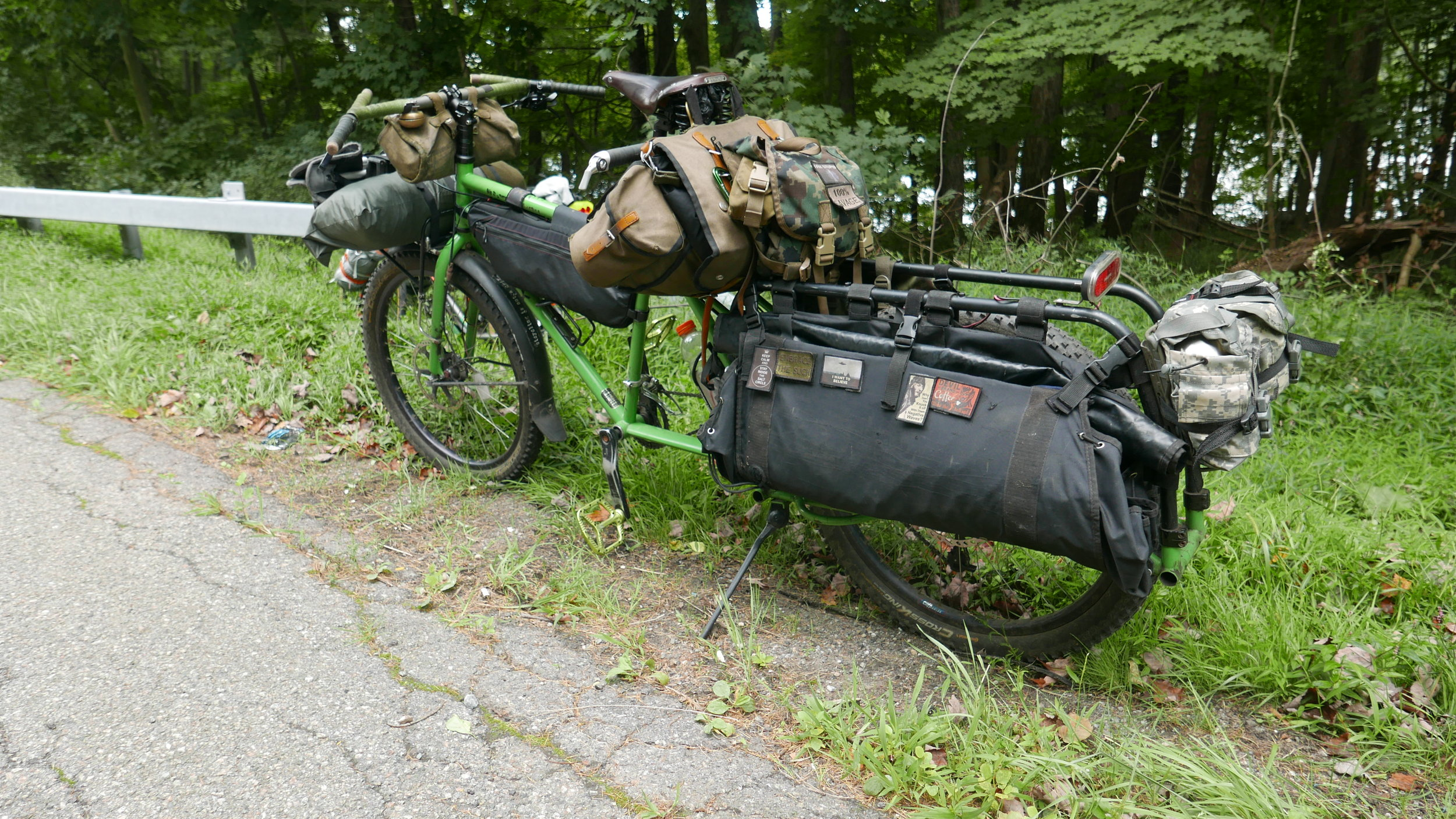 The best use of a Surly Big Dummy ever