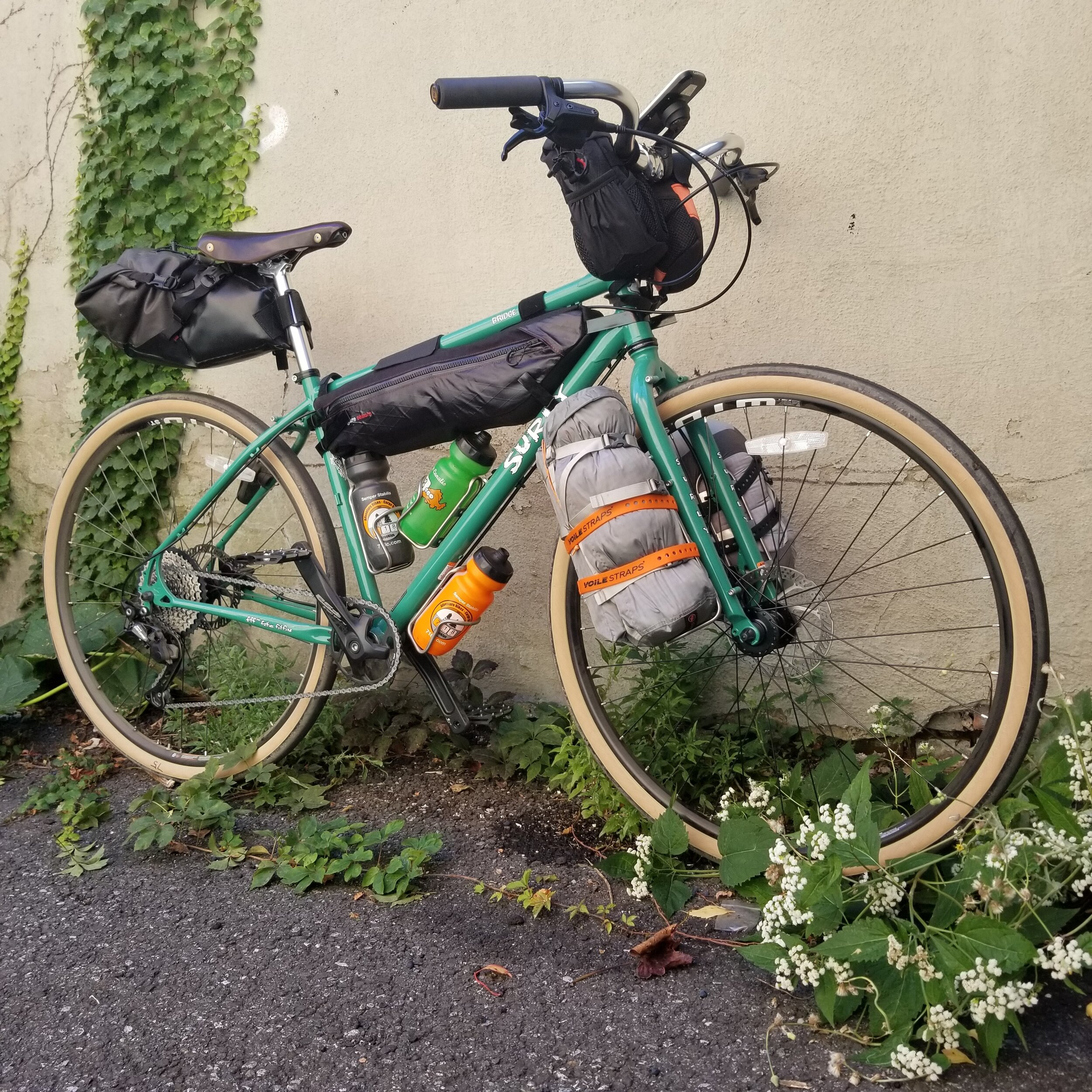 I packed up and used a new Surly Bridge Club