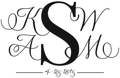 Final monogram vector