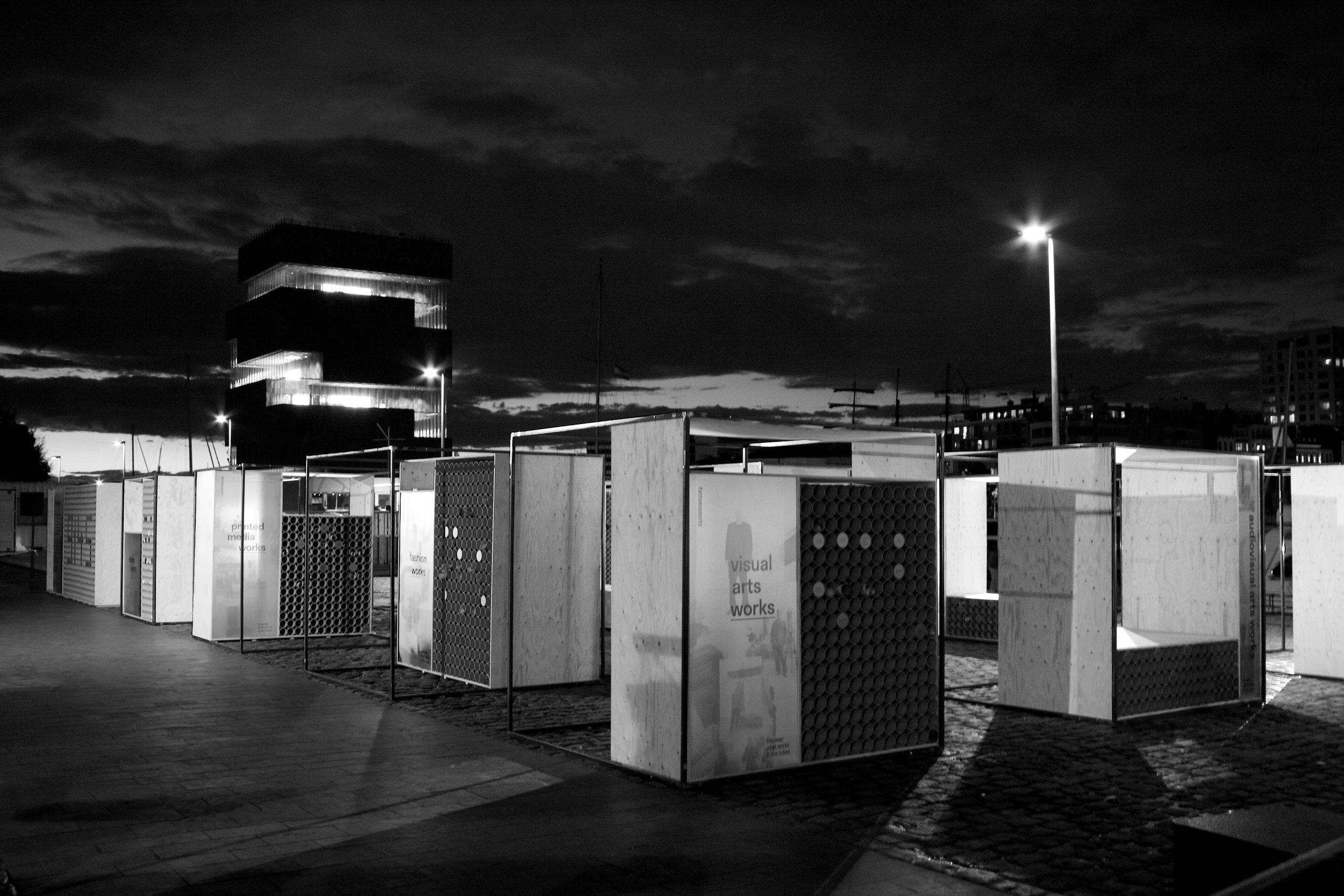 Antwerp WORKS set design show performance