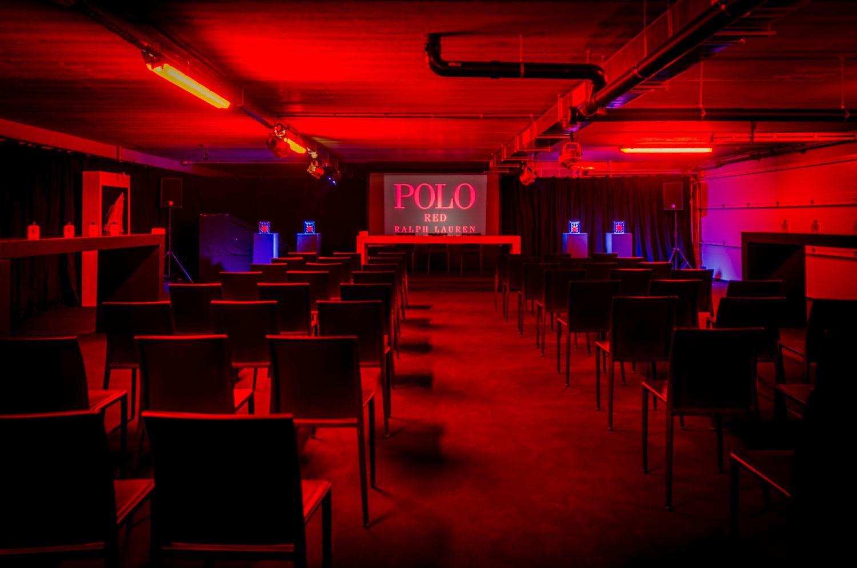 POLO Ralph Lauren - set design press launch