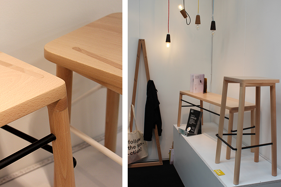 Taberna stools, launched at Tent London
