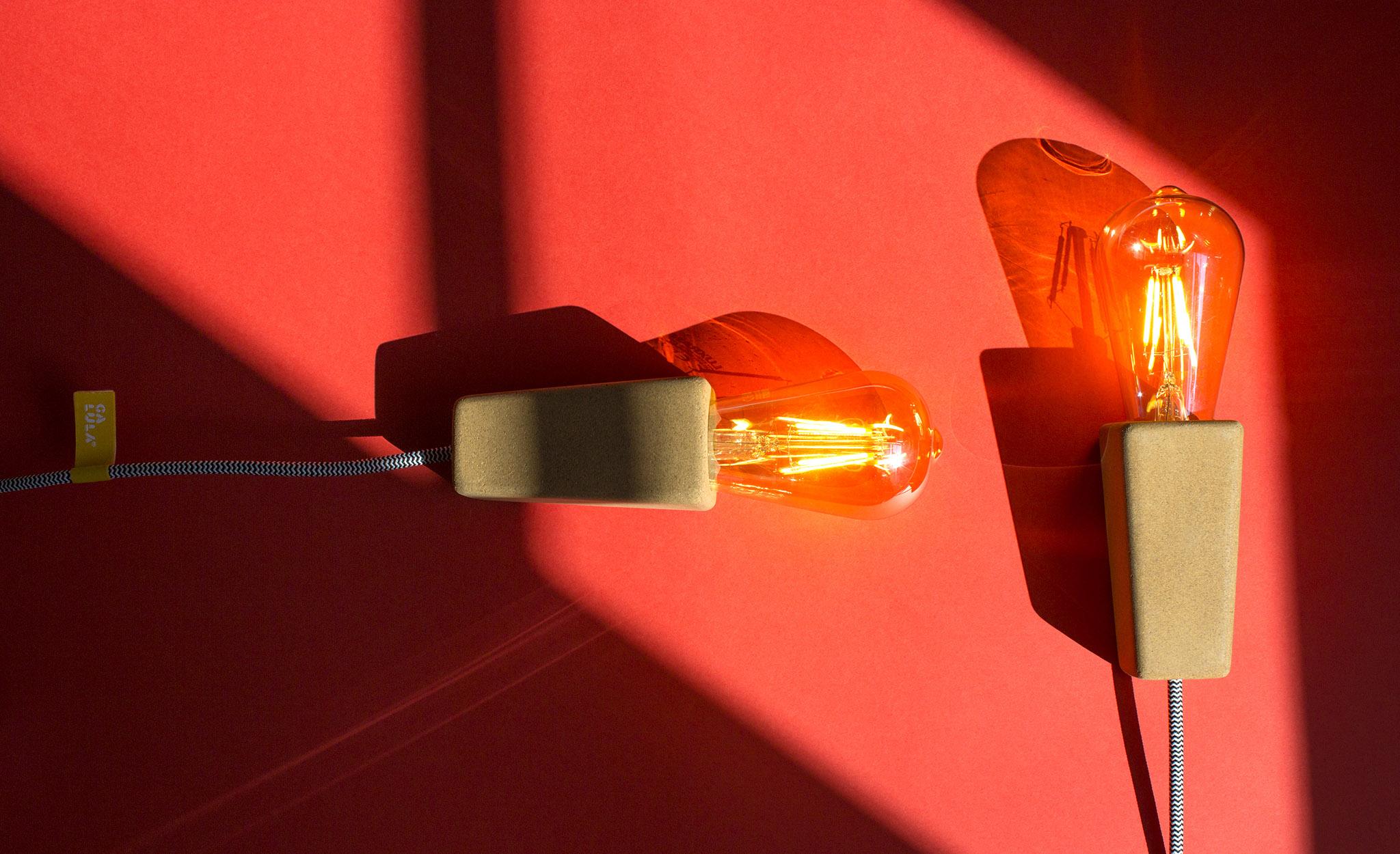 Galula Magneto cork lamp